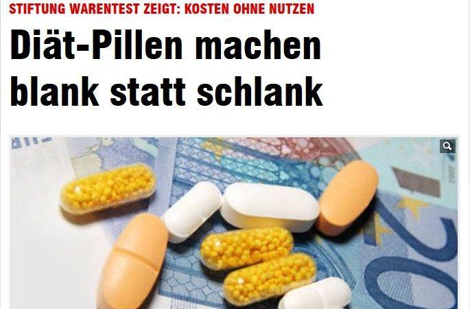 Diat Pillen Machen Blank Statt Schlank Zu Einem Gewissen